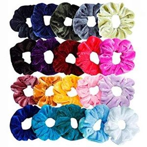 20 random scrunchies